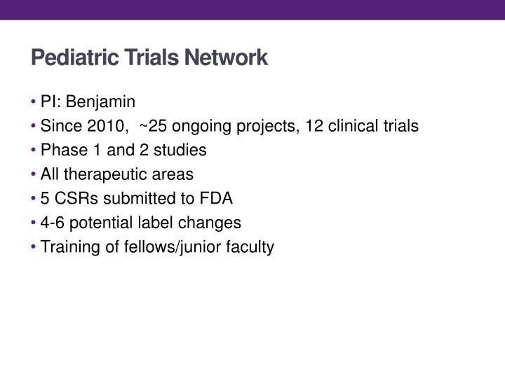 Pediatric Trials Network