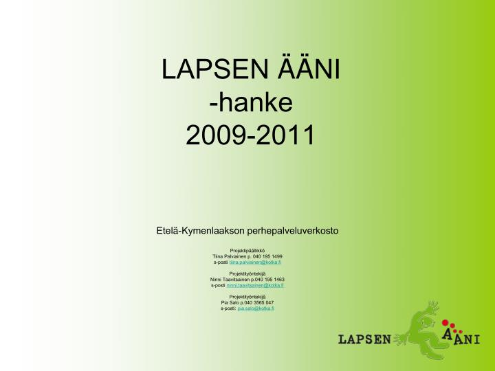 LAPSEN