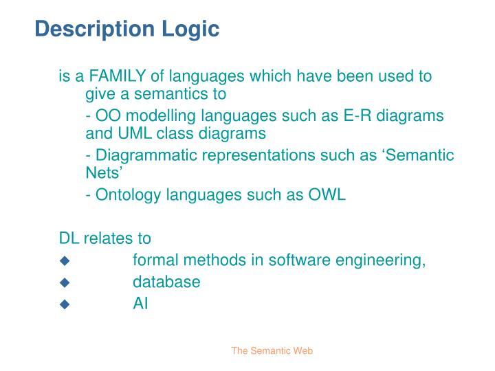 Description Logic