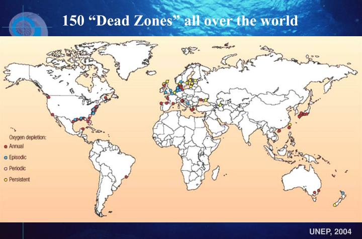 """150 """"Dead Zones"""" all over the world"""