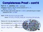 completeness proof cont d2