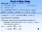 proof of main claim2