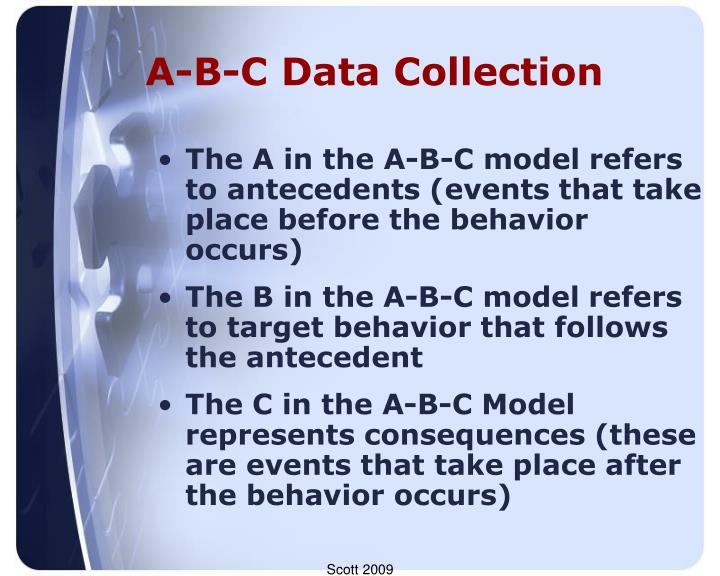 A-B-C Data Collection