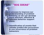fba big ideas