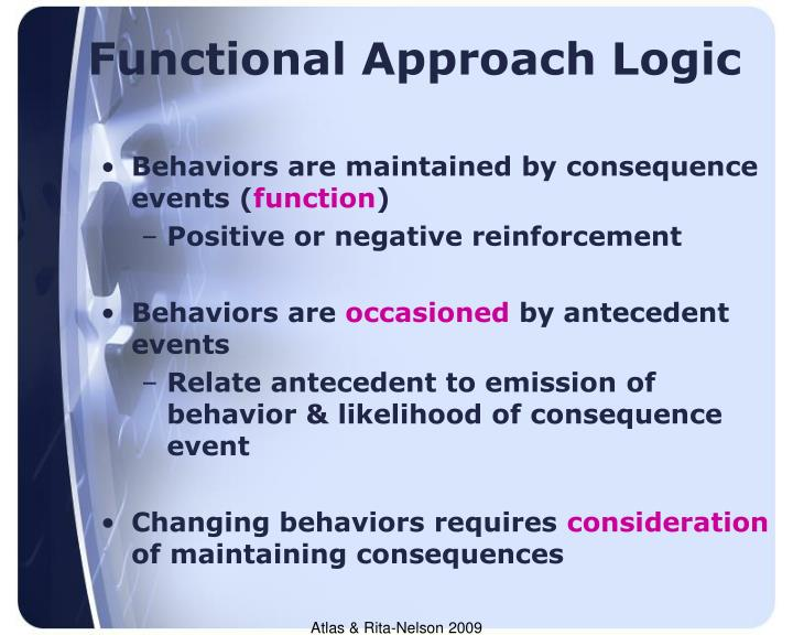 Functional Approach Logic