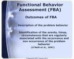 functional behavior assessment fba