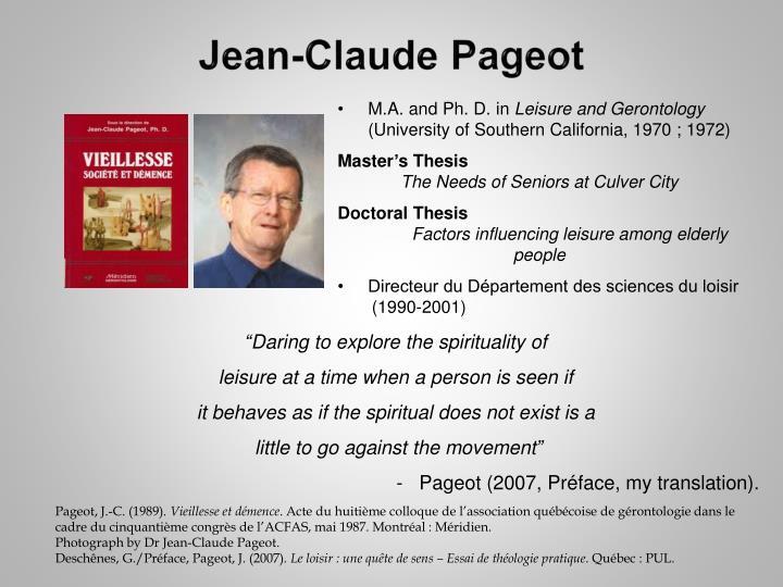 Jean-Claude Pageot