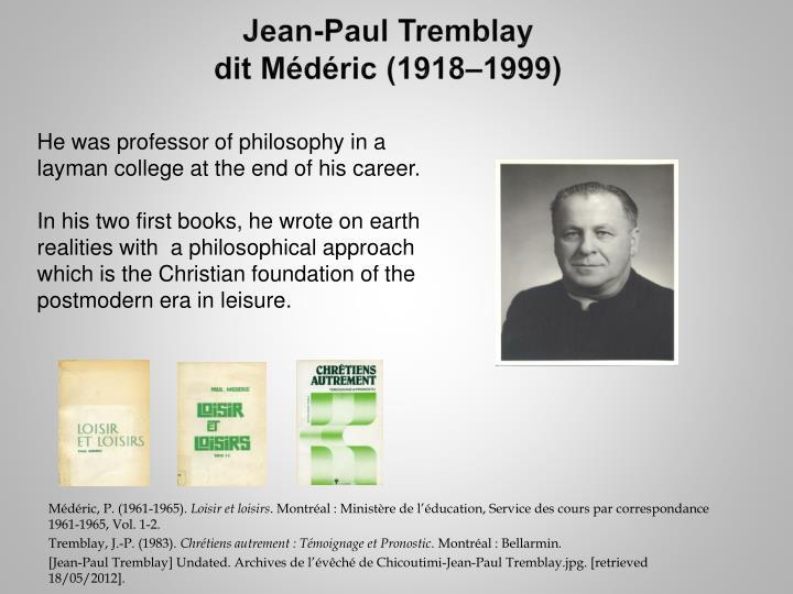 Jean-Paul Tremblay