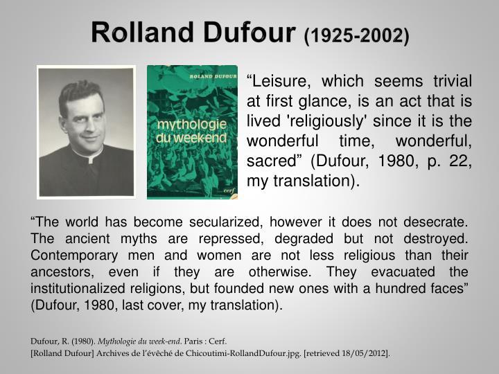 Rolland Dufour