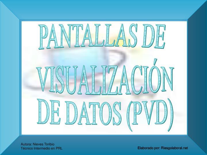 PANTALLAS DE