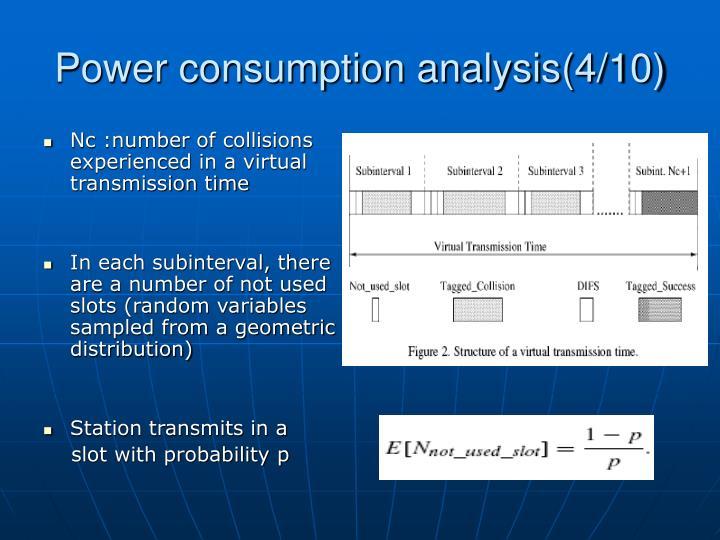 Power consumption analysis(4/10)