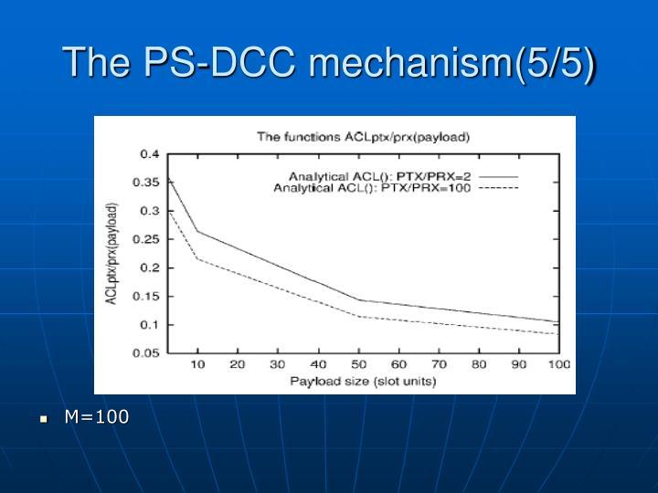 The PS-DCC mechanism(5/5)