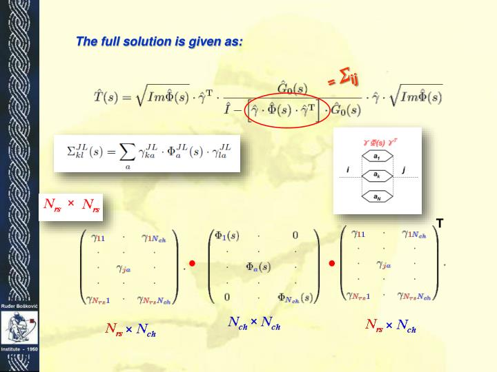 The full solution is given as: