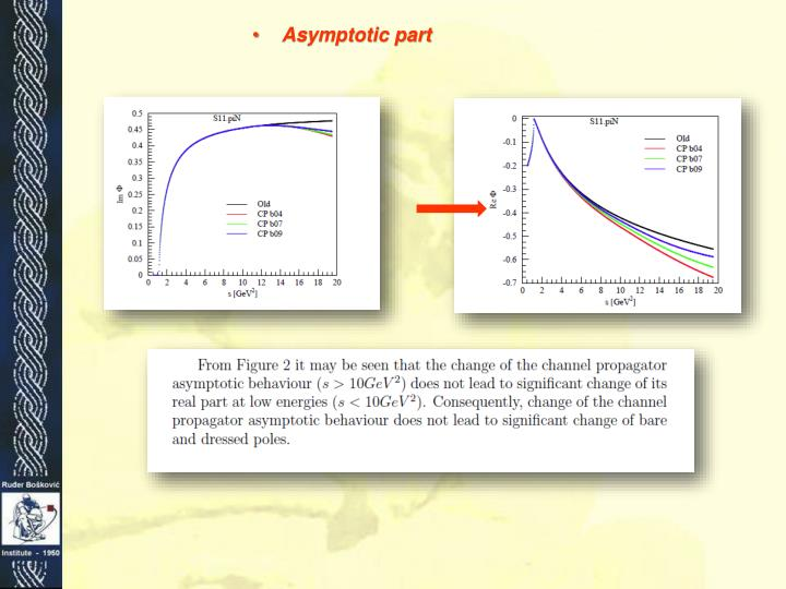 Asymptotic part