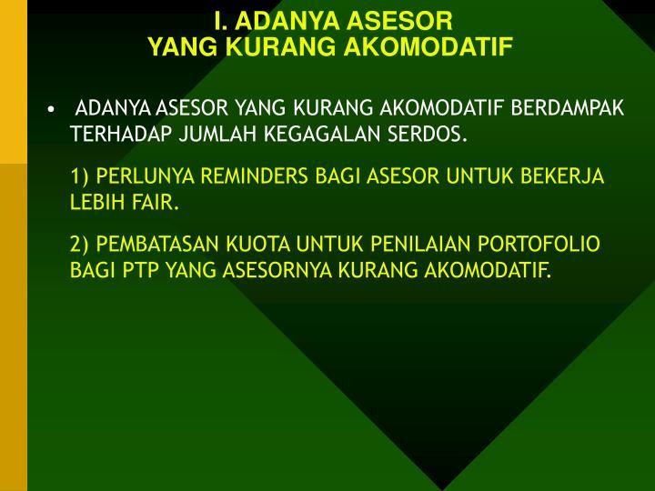 I. ADANYA ASESOR
