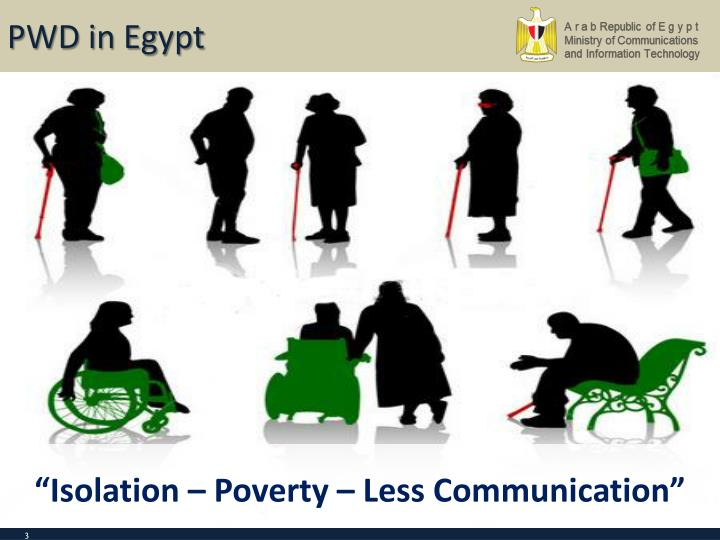 PWD in Egypt