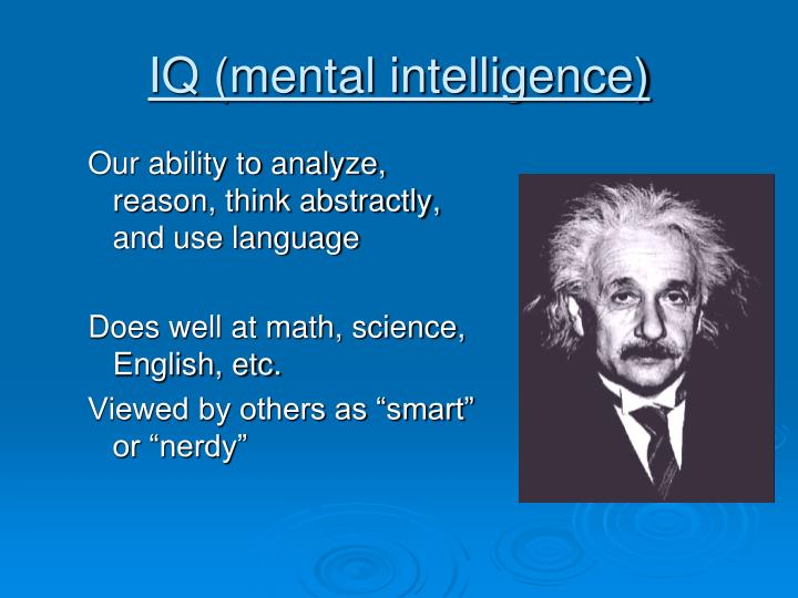 IQ (mental intelligence)