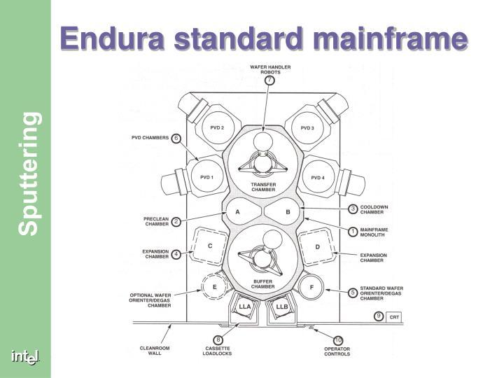 Endura standard mainframe