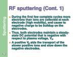 rf sputtering cont 1