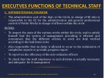 executves functions of technical staff1