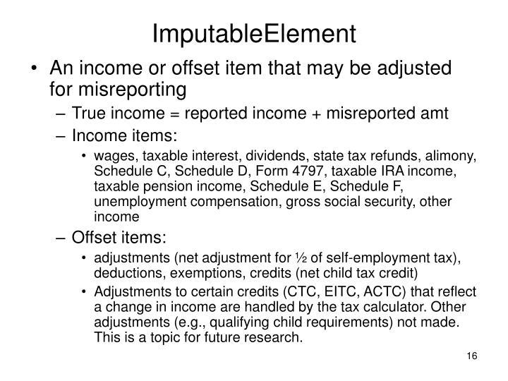 ImputableElement