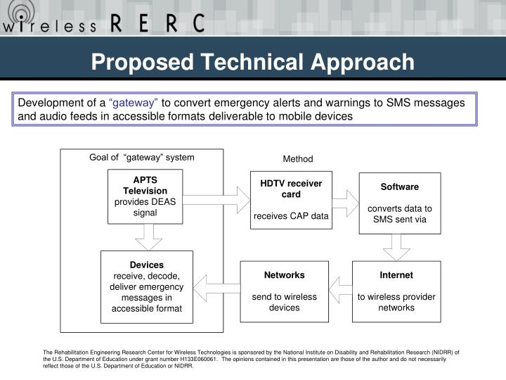 Proposed Technical Approach