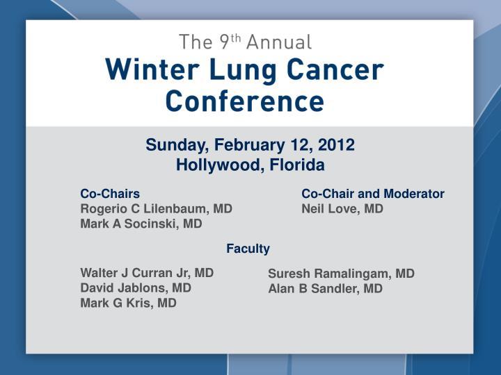 Sunday, February 12, 2012