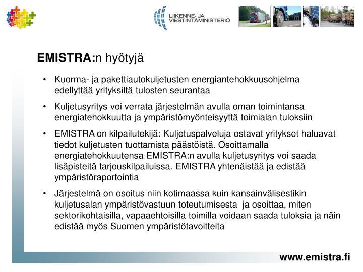 EMISTRA: