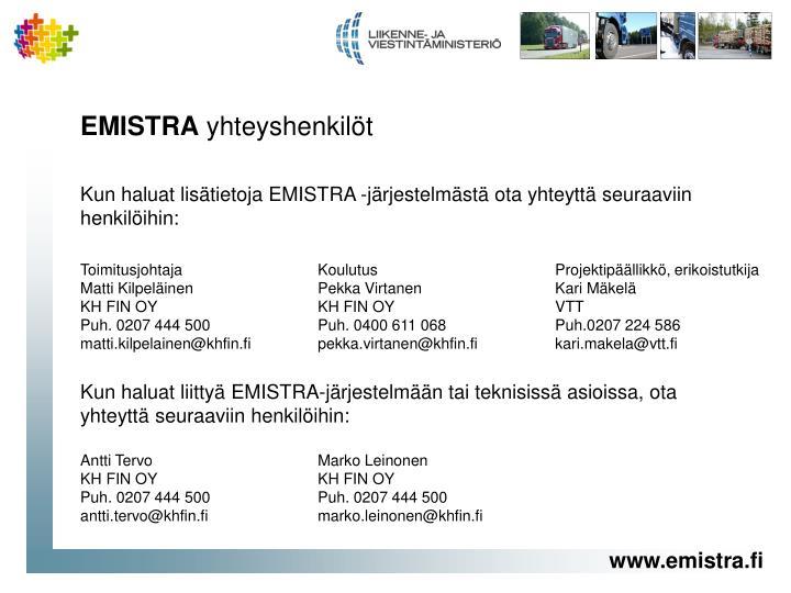 EMISTRA