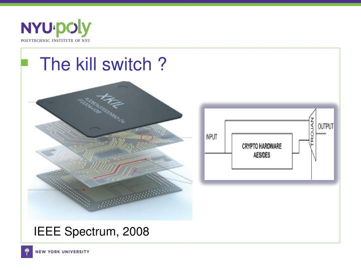 The kill switch ?