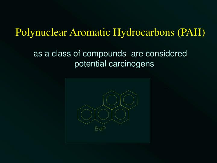 Polynuclear Aromatic Hydrocarbons (PAH)