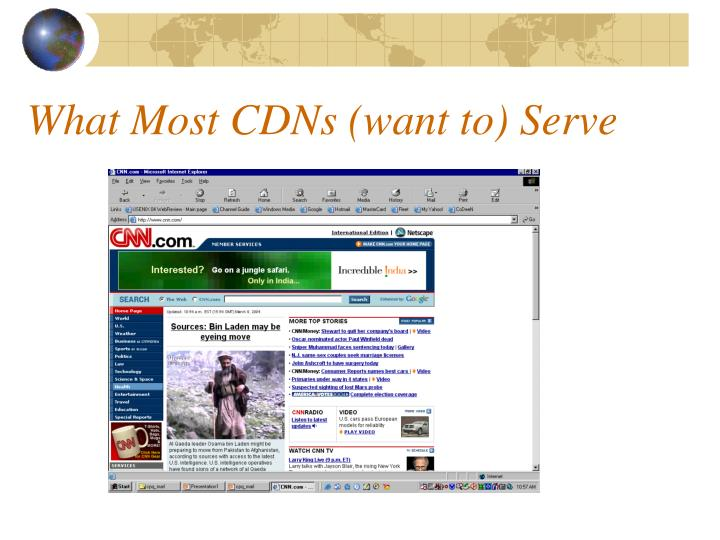 What Most CDNs (want to) Serve