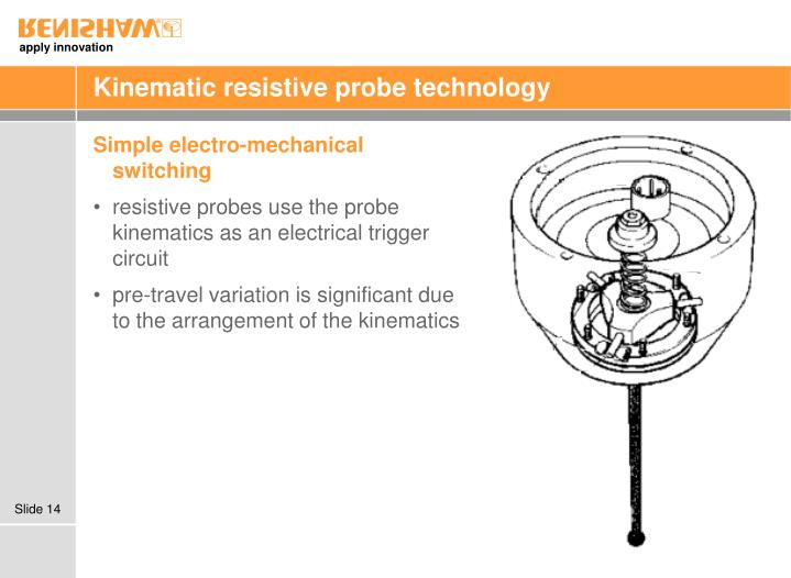 Kinematic resistive probe technology