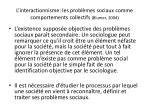 l interactionnisme les probl mes sociaux comme comportements collectifs blumer 20042