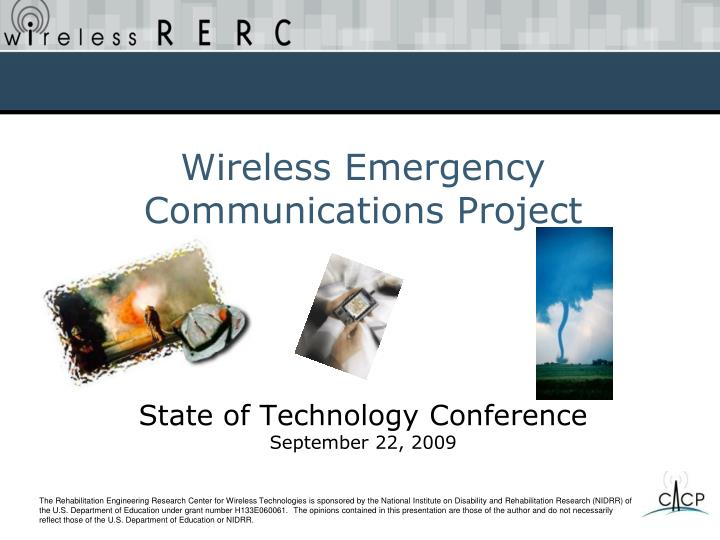 state of technology conference september 22 2009