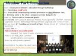 meadow park foundation
