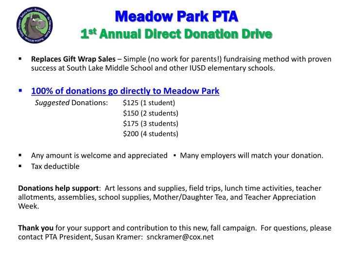 Meadow Park PTA