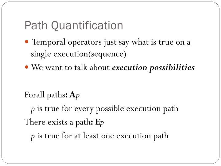 Path Quantification
