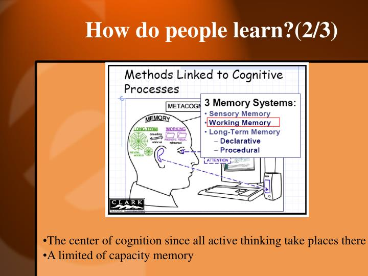 How do people learn?(2/3)