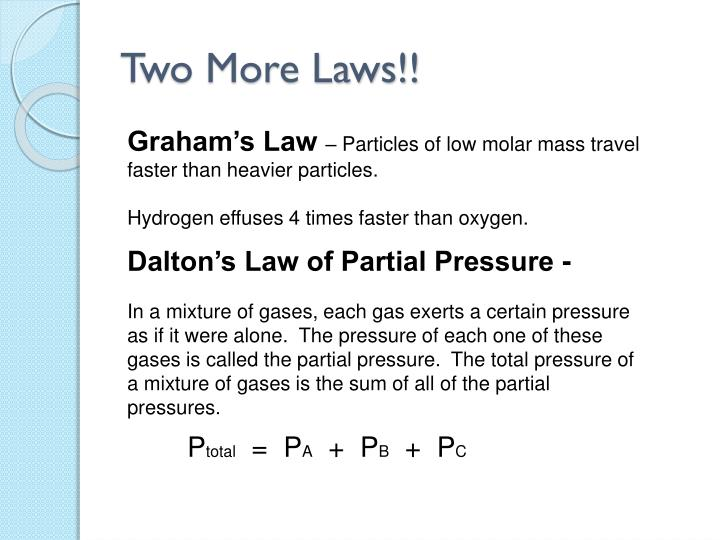 Two More Laws!!