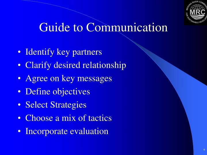 Guide to Communication