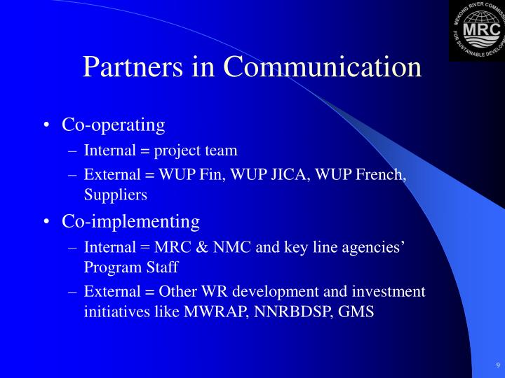 Partners in Communication