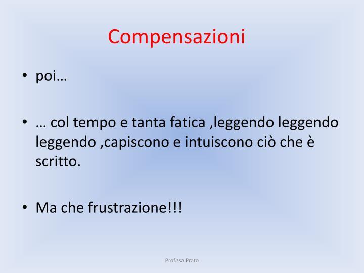 Compensazioni
