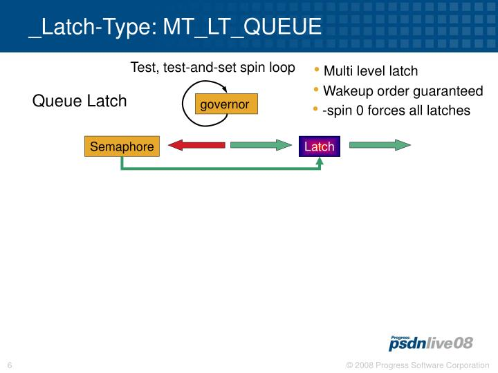 _Latch-Type: MT_LT_QUEUE