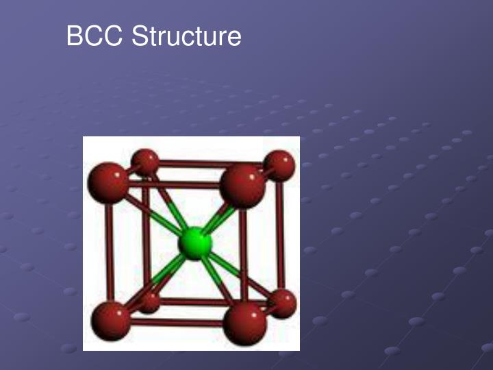 BCC Structure