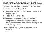 reorganizaciones empresariales2