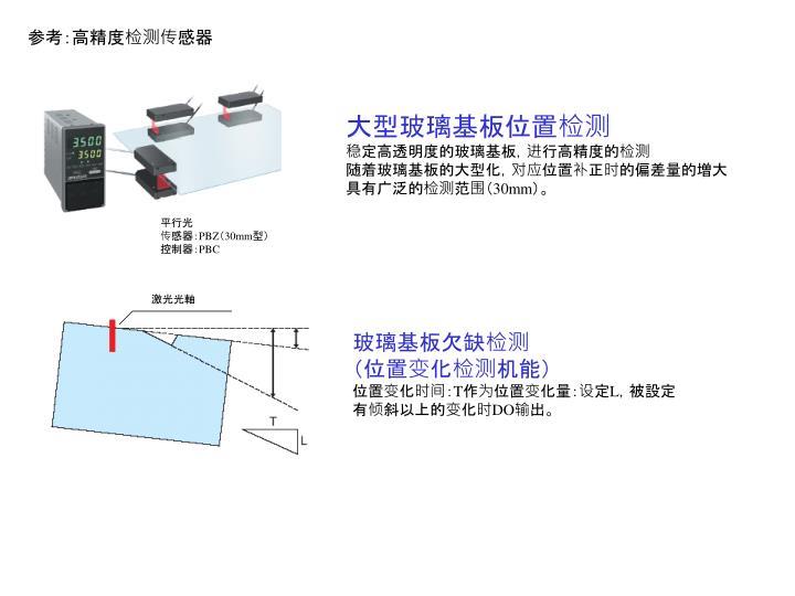 参考:高精度检测传感器