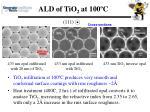 ald of tio 2 at 100 c