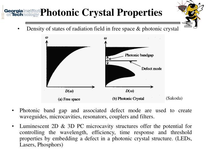 Photonic Crystal Properties