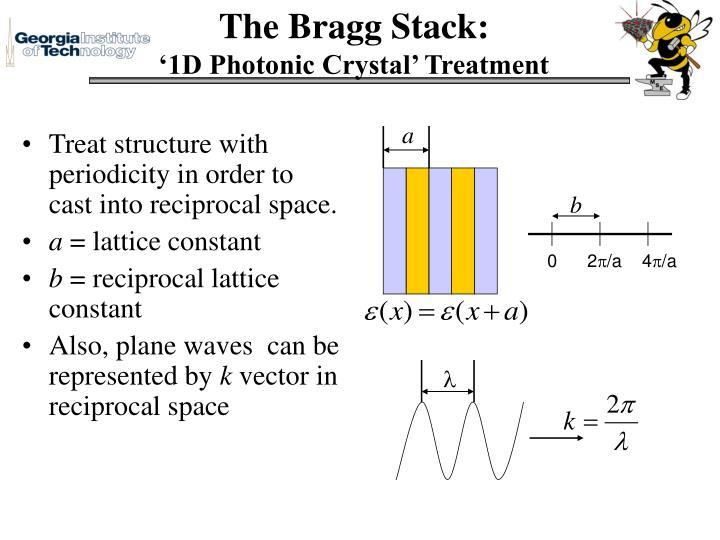 The Bragg Stack: